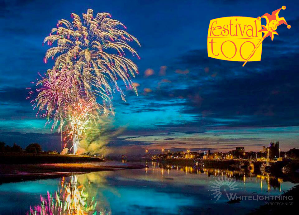 Whitelightning opens Festival Too 2015 with explosive display