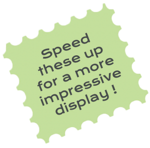 speed up display